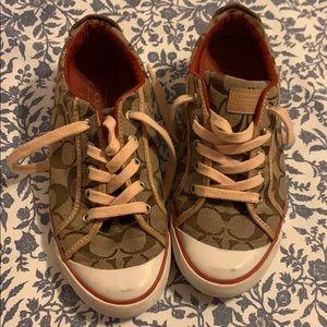 Coach tennis shoes. Size 7